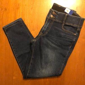 Apt 9 Ankle Skinny Jean Sz 10
